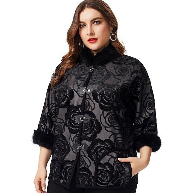 plus size jackets & coats